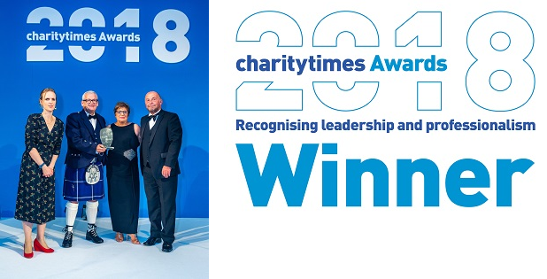 Langley wins Charity of the Year Award!